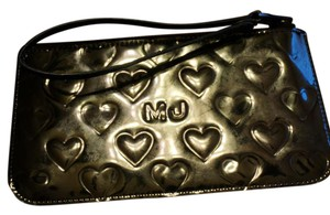Marc Jacobs MARC JACOBS Limited Edition Mirror Embossed Heart Wristlet