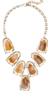Kendra Scott Kendra Scott Brown Mother of Pearl Harlow with rose gold