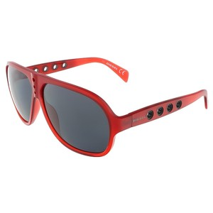 Diesel Diesel Red Aviator sunglasses