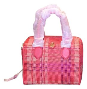 Tory Burch Satchel in Poppy coral