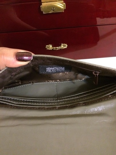 Kenneth Cole Reaction Wristlet in Grey