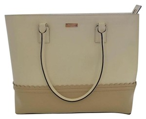 Kate Spade Tote in White and Cream