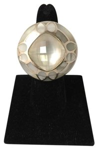 Stephen Webster White Mother of Pearl and Sterling Silver Ring