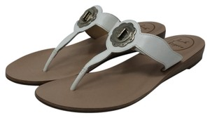 Jack Rogers Thong White Sandals