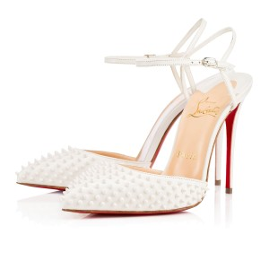 Christian Louboutin Brand New In Box WHITE Pumps