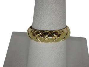 Tiffany & Co. Tiffany & Co 18k Yellow Gold dome Band Ring 8.25