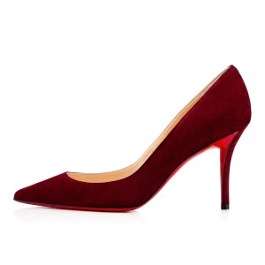 Christian Louboutin Brand New In Box BURGUNDY Pumps