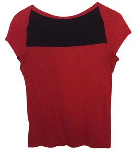 Merona Top Red and blue