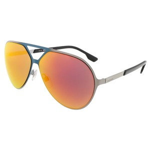 Diesel Diesel Matte Teal/Shiny Light Ruthenium Aviator sunglasses