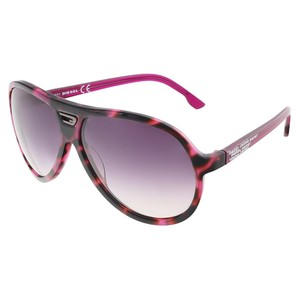 Diesel Diesel(TM) Purple Tortoise Modified Aviator sunglasses