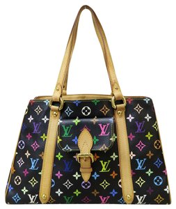 Louis Vuitton Lv Multicolor Aurelia Mm Canvas Shoulder Bag