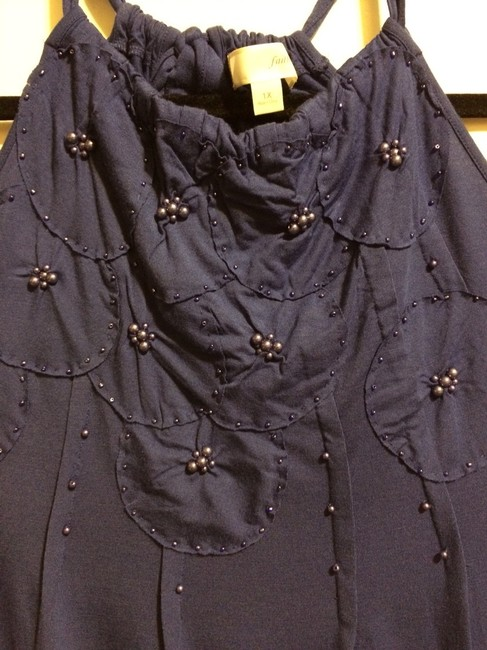 Forever 21 Top Blue/Purple Mix