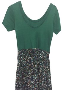 Sandro short dress Green on Tradesy