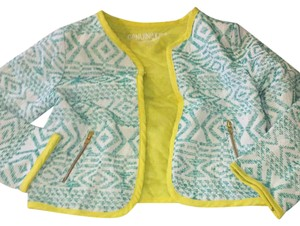 OshKosh B'gosh teal with neon trimming Jacket