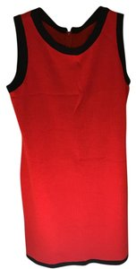 St. John short dress red on Tradesy