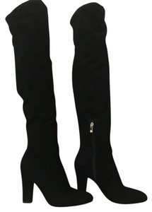 Ivanka Trump Over The Knee Sale Winter Clearance Black Boots