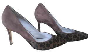 Johnston & Murphy Brown & leopard Pumps