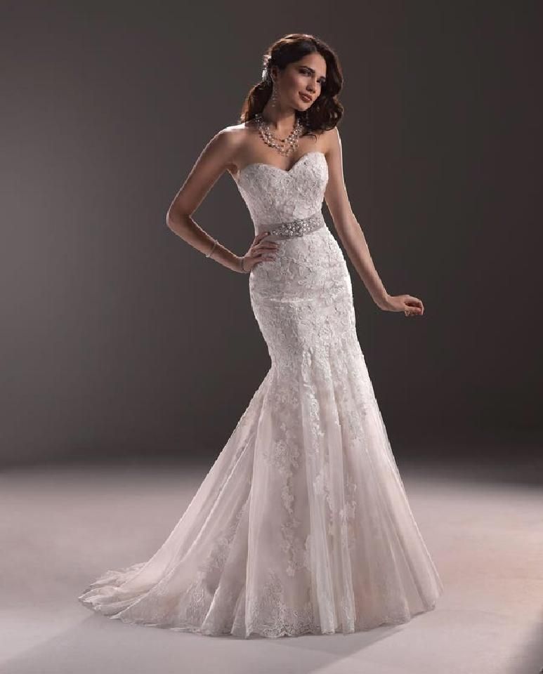 Maggie sottero ascher wedding dress on sale 41 off for Maggie sottero wedding dress sale