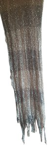 Charlie Paige Charlie Paige Gray Poly Silver Metallic Thread Accent