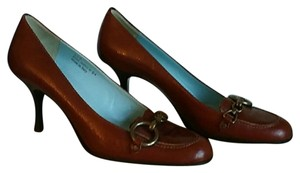 Coach Leather BROWN Pumps