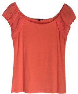 AK Anne Klein T Shirt Orange