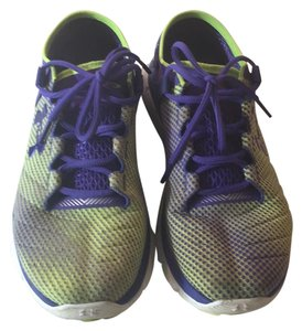Under Armour purple and green Athletic