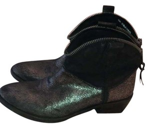 Sacha London black and silver Boots