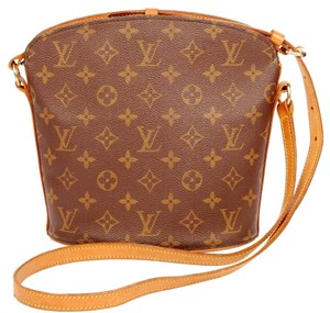 Louis Vuitton Drouot Canvas Cross Body Bag