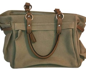 Modesr!o Satchel in beige, brown, silver