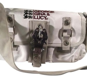 George Gina & Lucy Satchel in Beige / Off White