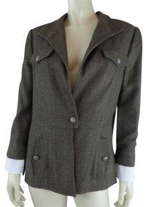 Carlisle Coat New Textured Army Green Blazer