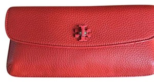 Tory Burch Red Canyon Clutch