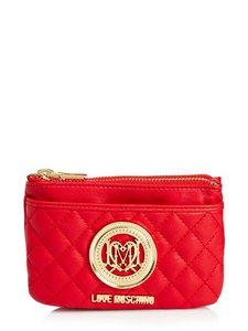 Love Moschino Wallet Purse Sale Wristlet in Red