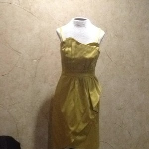 Metro Style short dress Mustard on Tradesy