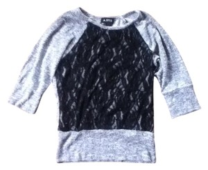 Lace Knit Textured Exclusive Sweater