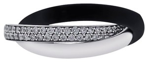 Cartier Cartier Trinity 18k White Gold 0.45ctw Diamond Trinity Size 48 Ring