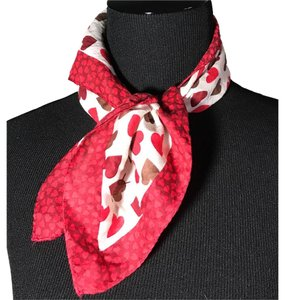 Saint Laurent Valentine's Day Scarf