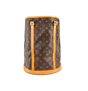 Louis Vuitton Bucket Gm Leather Monogram Beach Bag