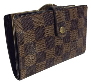 Louis Vuitton Louis Vuitton Damier French kisslock wallet