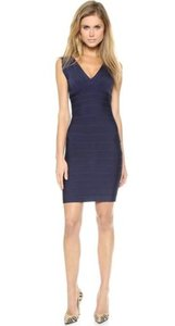 Hervé Leger Dark Bandage Lbd Dress