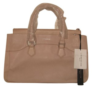 Liebeskind Berlin Leather Tote in Vintage Power Rose