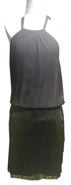 Preload https://img-static.tradesy.com/item/20560915/aidan-mattox-black-with-fringe-bottom-short-cocktail-dress-size-2-xs-0-3-650-650.jpg