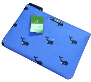 Kate Spade off we go whale Clutch
