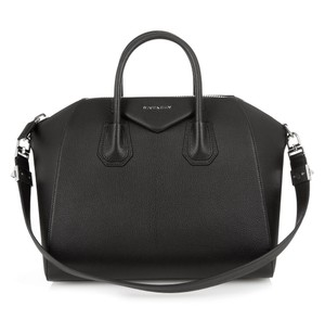 Givenchy Antigona Medium Antigona Antigona Satchel Tote in Black