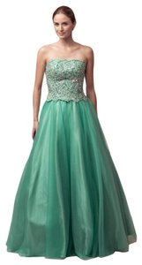 Bicici & Coty Strapless Ball Gown Cb137 Dress