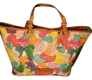 Dooney & Bourke Tote in Multi Color Canvas