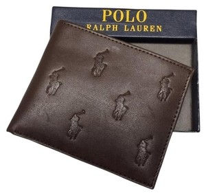 Polo Ralph Lauren Polo Ralph Lauren Mens Brown Passcase Wallet