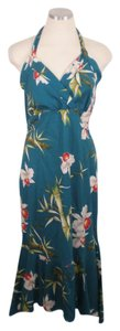 Milson Hawaii Hawaiian Halter Dress