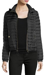 Burberry Lightweight Hooded Black Jacket