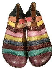 Spring Step Foot Support Comfortable Stylish Design Multi Color Leather Mules